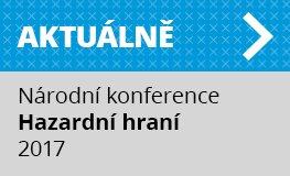 Aktuálně: Národní konference Hazardní hraní v ČR 2017