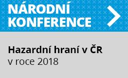Národní konference Hazardní hraní v České republice v roce 2018